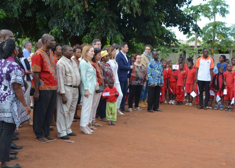 LA PRESIDENTA DEL CONGRESO DE LOS DIPUTADOS Y LA COMISIÓN DE COOPERACIÓN INTERNACIONAL PARA EL DESARROLLO VISITAN MOZAMBIQUE