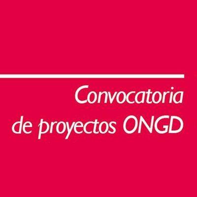 CONVOCATORIA DE PROYECTOS ONGD 2018