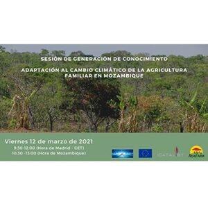 Sesión de generación del conocimiento: Adaptación al cambio climático de la agricultura familiar en Mozambique